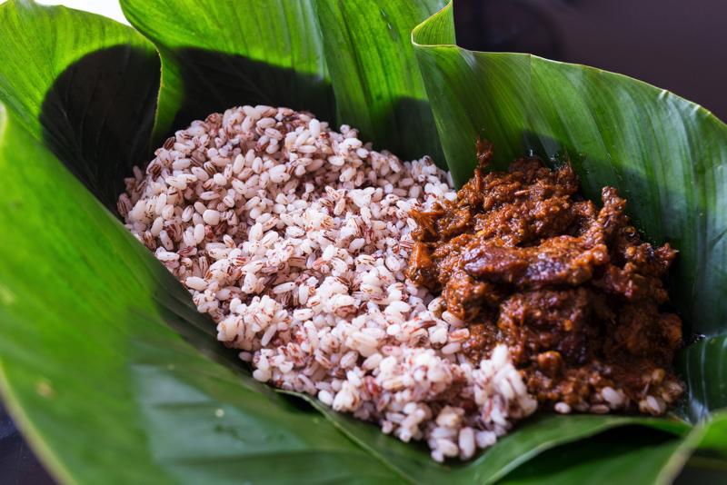 Image result for ofada rice vs jollof rice